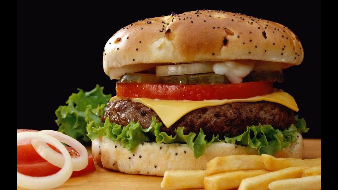 Кулинарный мастер класс Бургер из говядины - YouTube