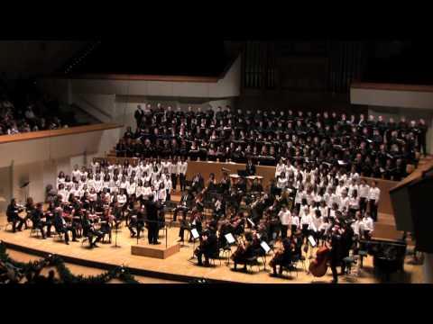 IV Aniversario Coral José Roca. Concierto celebrado en el Palau de la Música de Valencia el 4 de Diciembre de 2010 con la participación de la Coral Infantil ...