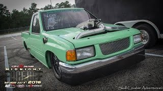The Froggy 427 LS Powered Isuzu Pickup @HMP @Midnight Faceoff 2016