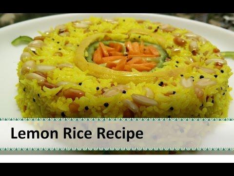 Lemon Rice Recipe | South Indian Dish | healthy south indian recipes by Healthy Kadai