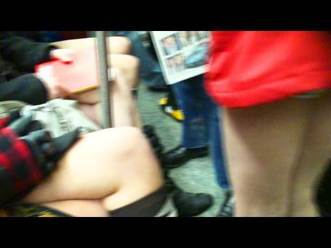 NO PANTS Subway Ride! Music Videos