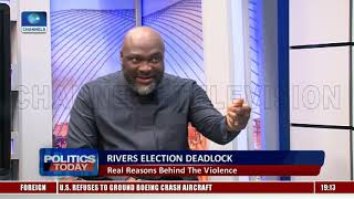 Chidi Lloyd Fumes Over Rivers Poll Suspension, Alleges Foul Play |Politics Today|