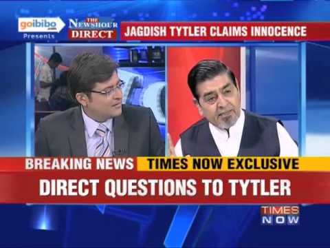 War Of Words: Arnab Goswami And Jagdish Tytler