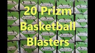 2018/19 Panini Prizm Basketball 20 Blaster Box Break / Sweet Auto