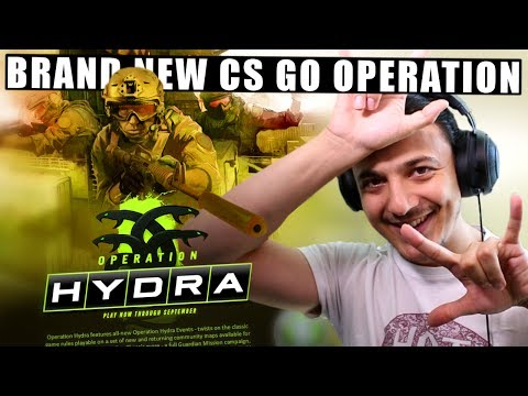 CS GO OPERATION HYDRA!!! (BRAND NEW MAPS,  MISSIONS, MODES, & CASES)