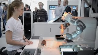 video Come see YuMi live and in person at its worldwide debut during Hannover Fair 2015, in Hannover, Germany from April 13-17, Hall 11 Booth A35. With the introduction of YuMi, the world's first...