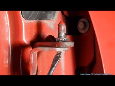 How To Replace Door Hinge Pins On Chevy Silverado. GMC Trucks. and SUVs