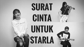 VIRGOUN - SURAT CINTA UNTUK STARLA (Cover) | Audree Dewangga, Amadea Pranoto, Yotari Kezia