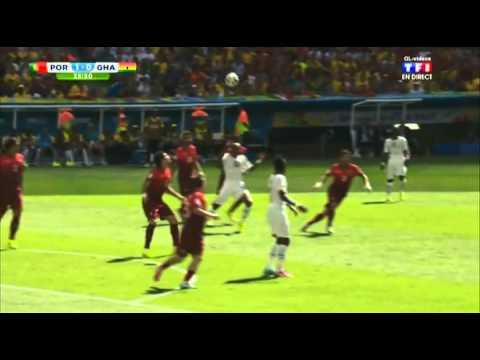 Portugal - Ghana 2014 Resumé TF1 [jejeinho]