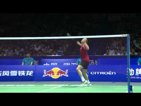 2012 Thomas & Uber Cup Finals-MS-Thomas Cup-Semi Finals-Peter Hoeg GADE vs. Hyun Il LEE