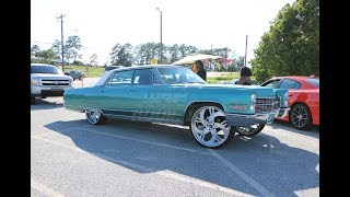 WhipAddict: 66' Cadillac Fleetwood on Amani Forged Solo 24s with Matching Steering Wheel
