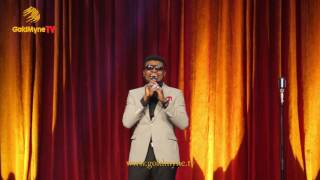 COMEDIAN, OMOBABA TAKES ON STAMMERERS AT LAGOS @ 50 | LAGOS LAUGHS