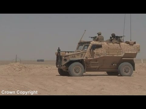 Inside the Foxhound light patrol vehicle - the army's replacement for the Snatch Landrover