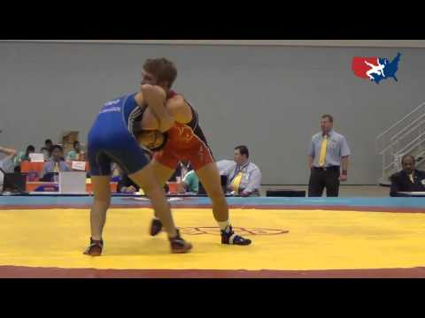2012 Junior Worlds - 55kg - Joey Dance (USA) vs. Lasha Talakadze (GEO)