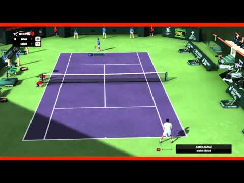 Top Spin 4 - Agassi vs Murray