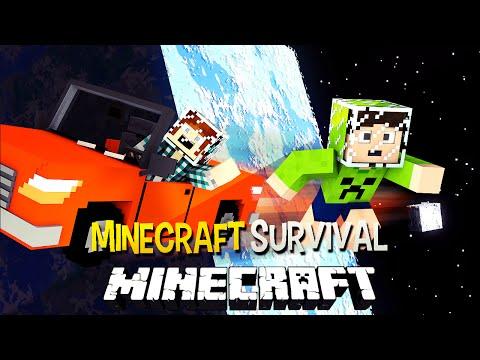Minecraft Survival Ep.91 - Universo e Carro Voador  !! ESPECIAL