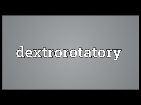 Header of dextrorotatory