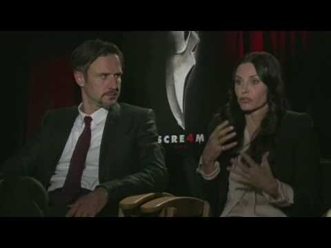 Scream 4 Interview - Courteney Cox And David Arquette Love Working Together