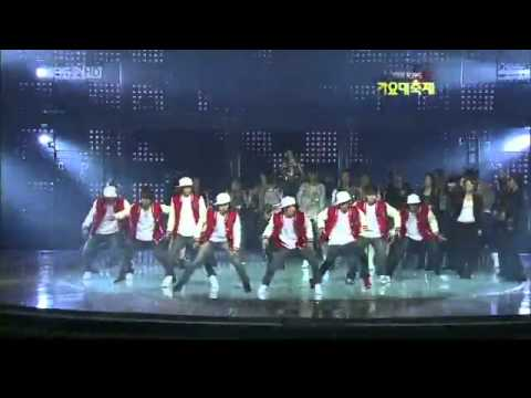 091230 Super Junior ~ A Chance Encounter (with Lyrics) KBS Gayo...