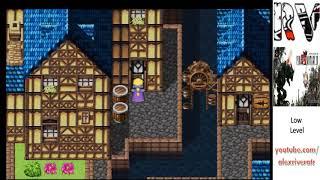 Final Fantasy VI (Low level) 2/??  Is Sabin a bear? Vargas boss