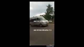 CSGT Bình Định, ra hiệu lệnh dừng xe không đúng, đuổi theo xe tài xế, nói có tố giác, không xin lỗi