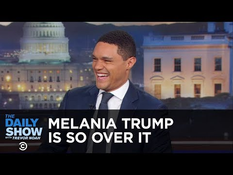 Melania Trump Is So Over It - Between The Scenes | The Daily Show