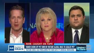 Former prosecutor, Nancy Grace, states People on pot shoot, stab and strangle each other