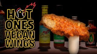 Where does Hot Ones get Vegan Wings?