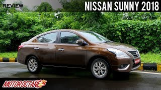 Nissan Sunny 2018 - better than Ciaz? | Hindi | MotorOctane