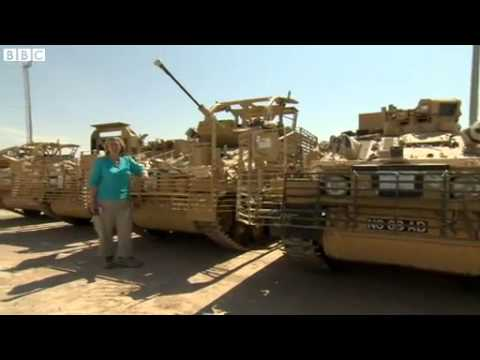 BBC News   Leaving Afghanistan  UK troops packing up Camp Bastion 3