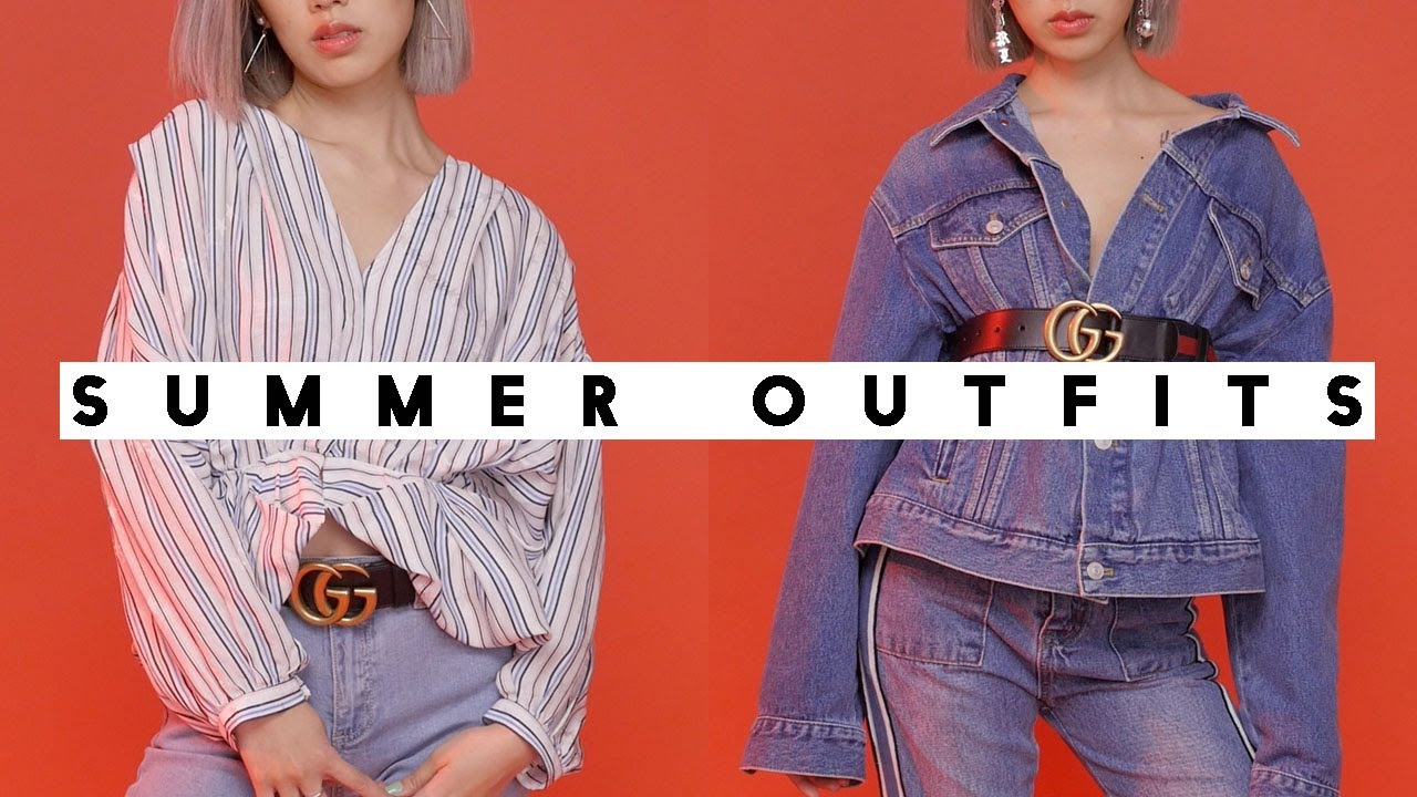 SUMMER LOOKBOOK | Outfits of the Week 2017 ♥