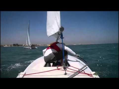 David Buxton | Laser Sailing | Kuwait Sailing Club |October 2014