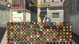 LEGO Marvel Super Heroes The Video Game - Mr Fantastic free roam