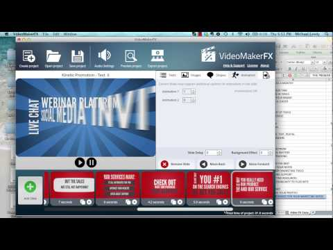 Video Maker FX Tutorial How to Create a Video with Video Maker FX Michael Leedy