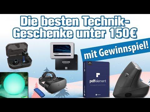 Die besten Technik-Geschenke unter 150 Euro