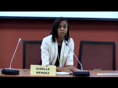 SALISES Caribbean Youth Development Conference 2015-ROUNDTABLE:Celebrating Youth Contribution