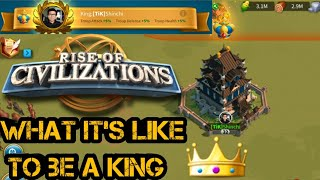 Rise of Civilizations - What is it like to be a King |Lost Temple| How to be a King