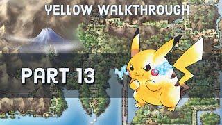 Pokemon Yellow Walkthrough - Part 13 - Ghost Tower of Lavender Town