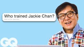 Jackie Chan Goes Undercover on Reddit, YouTube, Twitter and Instagram | Actually Me | GQ