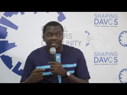 #ShapingDavos in Accra 2016 - Farmerline Alloysius Attah (3) #ShapingJobs