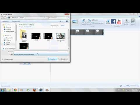 Como comprimir un vídeo facilmente (Windows Live Movie Maker)