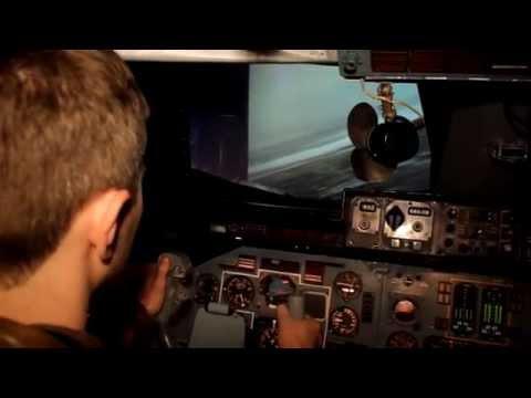 Тренировка пилотов АН-124 Руслан.