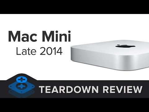 The Mac Mini (Late 2014) Teardown Review!