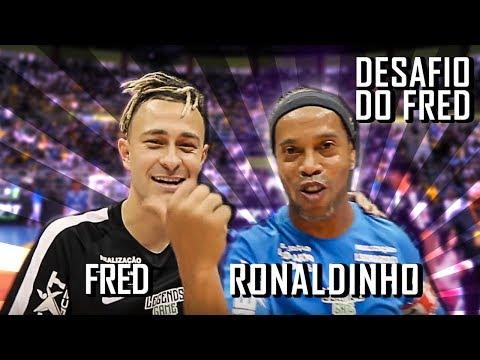 Desafio Aleatório com Ronaldinho Gaúcho Vídeos de zueiras e brincadeiras: zuera, video clips, brincadeiras, pegadinhas, lançamentos, vídeos, sustos