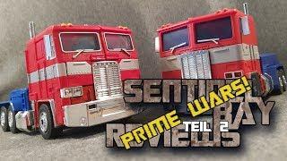 Magic Square MS01 Light of Freedom vs. Hasbro MP10 Optimus Prime Review Teil 2 deutsch/German