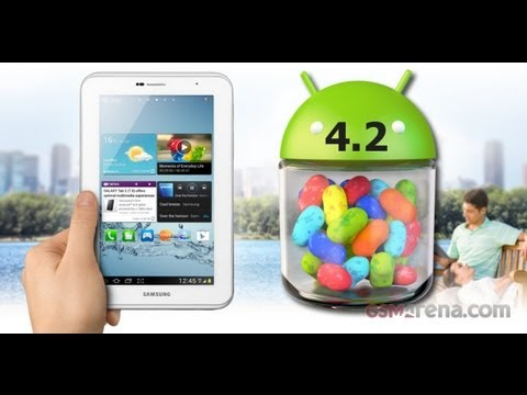 Galaxy Tab 2 7.0 com Android 4.2.2 oficial Samsung