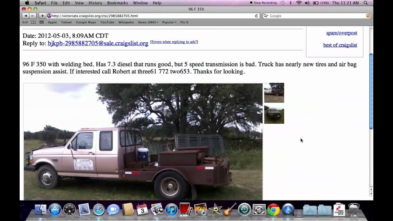 Cars And Trucks By Owner Craigslist >> Craigslist Victoria TX - Used Cars and Trucks for Sale By Owner Under $3000 - YouTube