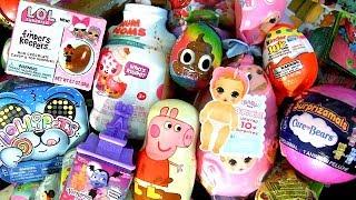 Abrindo Surpresas Peppa Pig, Bonecas Baby Born Brinquedos Kinder Poo Crew Smushy Mushy