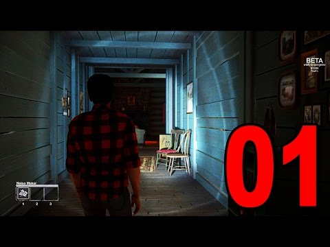Friday the 13th The Game - Part 1 - THIS IS SO SCARY