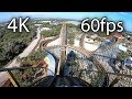Texas Stingray front seat on-ride 4K POV @60fps SeaWorld San Antonio